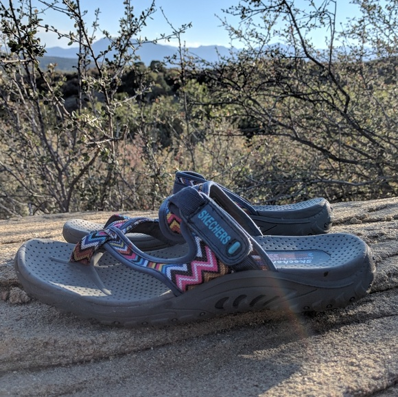 ff906ab7973a Sketchers Multi Color Sandal Women 9. M 5bab0e54c61777aaef6d3c71. Other  Shoes ...